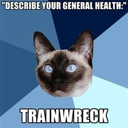 trainwreck health