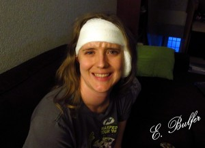 Lizz post-surgery
