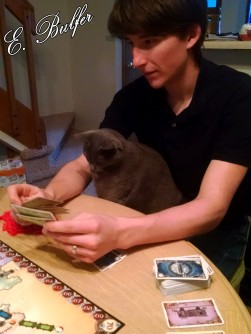Helping Dan play Ticket to Ride