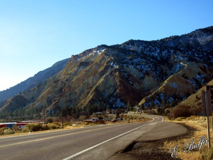 Part of the gorgeous back road from Richfield, UT to Zion National Park