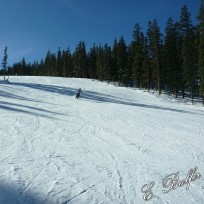 Finally, some photos of me skiing!