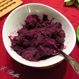 purple sweet potato finished