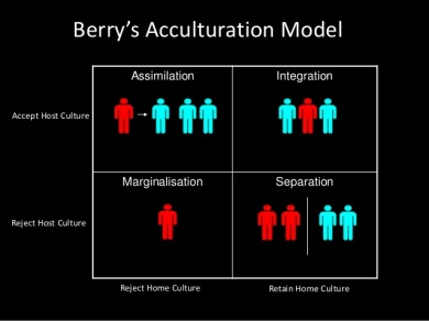 berrys acculturation model