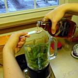 2 teaspoons of maple syrup