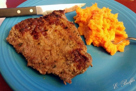 steak and sweet potatoes signed