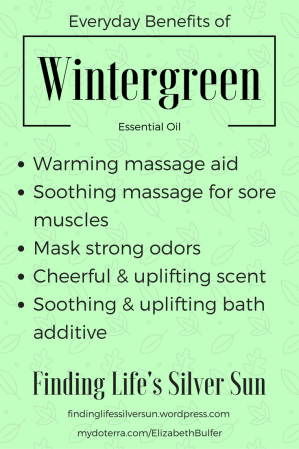 Everyday Benefits of Wintergreen Essential Oil
