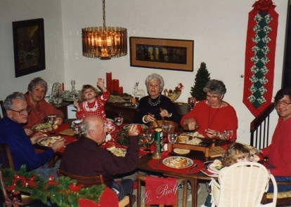 christmas dinner at grams signed