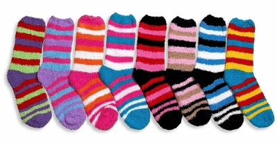Fuzzy Socks by Debra Weitzner on Amazon