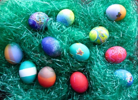 Dyed Eggs 2018