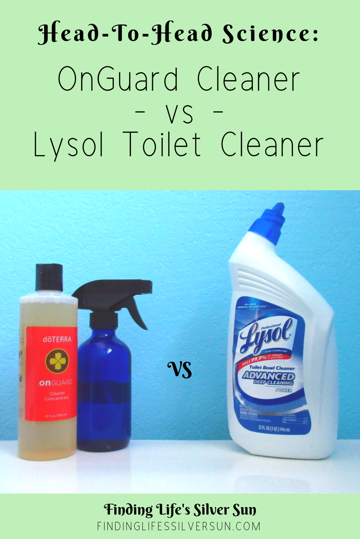 OnGuard vs Lysol - pinterest