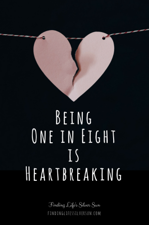 One in Eight - infertility journey beginning (pin)